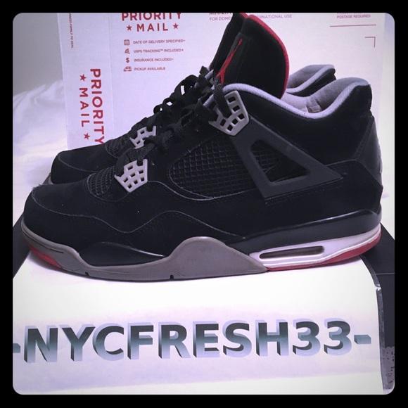 size 40 23413 b3e11 Jordan Other - Nike Air Jordan iv 4 Breds